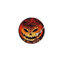 Halloween Pumpkin King Mini Button