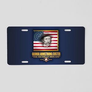 Custer (C2) Aluminum License Plate