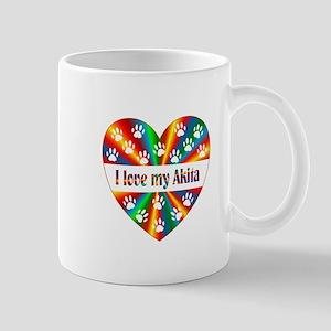 Akita Love Mug