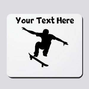 Skateboarder Mousepad