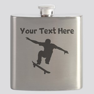 Skateboarder Flask