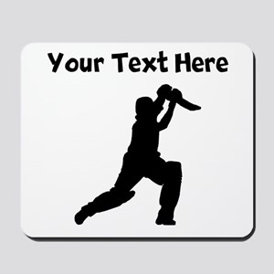 Cricket Player Mousepad