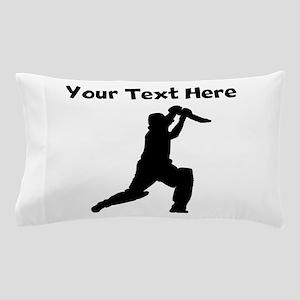 Cricket Player Pillow Case