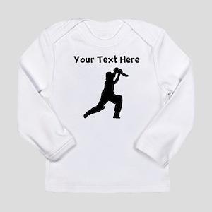 Cricket Player Long Sleeve T-Shirt