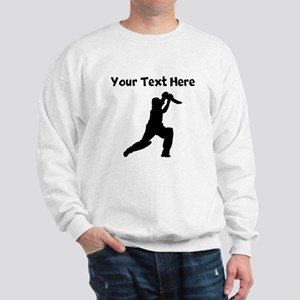 Cricket Player Sweatshirt
