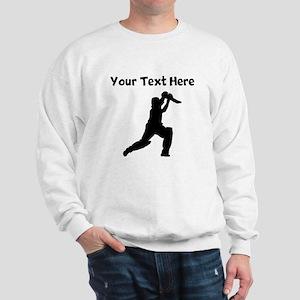 Cricket Player Sweatshirt