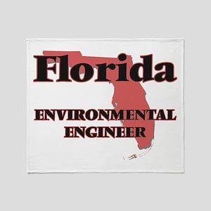Florida Environmental Engineer Throw Blanket