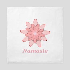 Nanaste Pink Lotus Queen Duvet