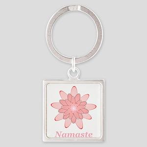 Nanaste Pink Lotus Keychains
