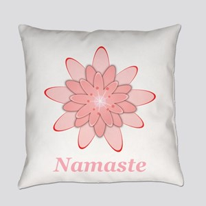 Nanaste Pink Lotus Everyday Pillow