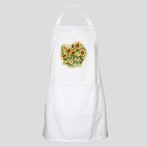 Field of Sunflower Apron