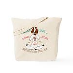 PEACE LOVE GOATS YOGA | GetYerGoat™ Tote Bag