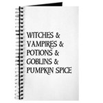 Halloween Pumpkin Spice Journal