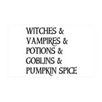 Halloween Pumpkin Spice Wall Decal