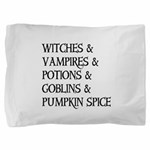 Halloween Pumpkin Spice Pillow Sham