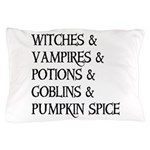 Halloween Pumpkin Spice Pillow Case