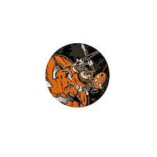 Halloween Pumpkin Spider Artist Mini Button