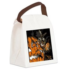 Halloween Pumpkin Spider Artist Canvas Lunch Bag