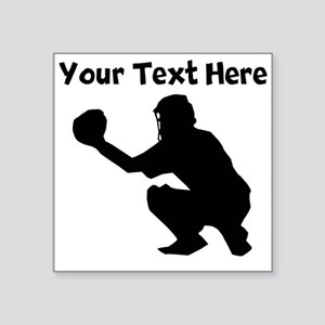 Baseball Catcher Sticker