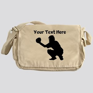 Baseball Catcher Messenger Bag