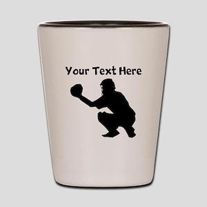 Baseball Catcher Shot Glass