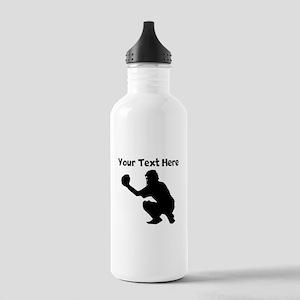 Baseball Catcher Water Bottle
