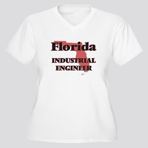 Florida Industrial Engineer Plus Size T-Shirt