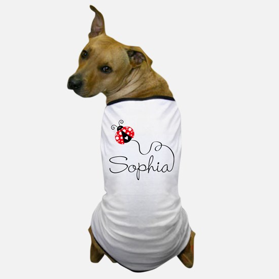 Ladybug Sophia Dog T-Shirt