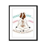 PEACE LOVE GOATS YOGA | GetYerGoat™ Framed Panel P