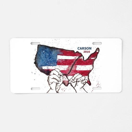 Carson 2016 - Aluminum License Plate