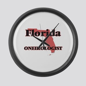 Florida Oneirologist Large Wall Clock