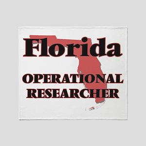 Florida Operational Researcher Throw Blanket