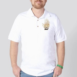 Talk To The Hand Golf Shirt