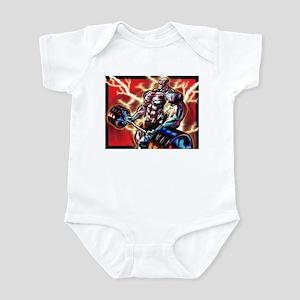 BODYBUILDING CURL Infant Bodysuit