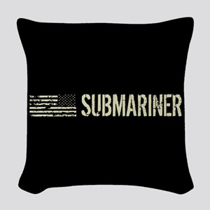 U.S. Navy: Submariner Woven Throw Pillow
