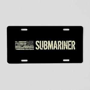 U.S. Navy: Submariner Aluminum License Plate