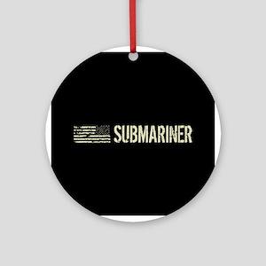 U.S. Navy: Submariner Round Ornament