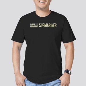 U.S. Navy: Submariner Men's Fitted T-Shirt (dark)