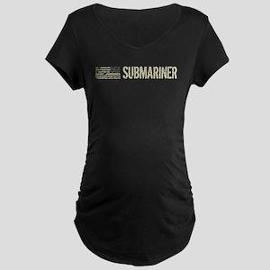 U.S. Navy: Submariner Maternity Dark T-Shirt