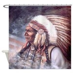 Star Chief Shower Curtain
