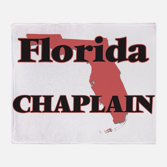 Florida Chaplain Throw Blanket