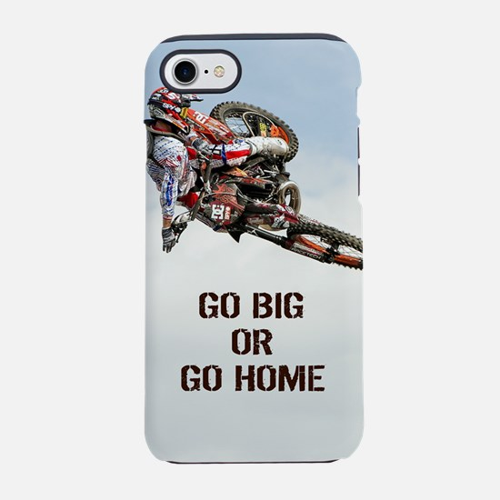 Motocross Rider iPhone 8/7 Tough Case