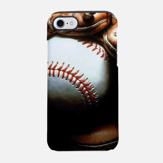 Baseball Ball And Mitt iPhone 8/7 Tough Case
