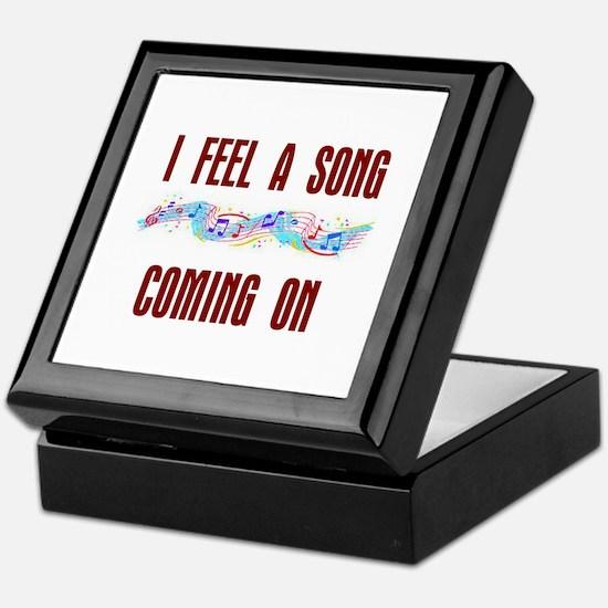 SONG COMING ON Keepsake Box