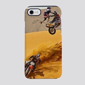 Motocross Riders Riding Sand iPhone 8/7 Tough Case