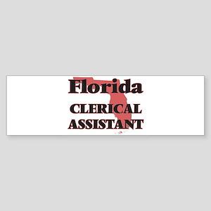 Florida Clerical Assistant Bumper Sticker