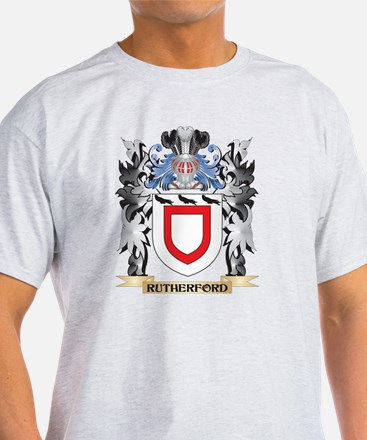 Rutherford Coat of Arms - Famil T-Shirt