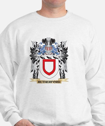 Rutherford Coat of Arms - Family Crest Sweatshirt