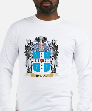 Ryland Coat of Arms - Family C Long Sleeve T-Shirt