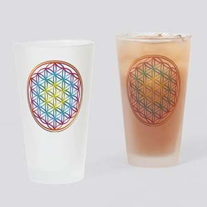the flower of life Drinking Glass